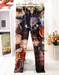 4-9Years Baby Girl Legging Children Pants Dragon Knight Girls Leggings Kids Leggings Girls Cute Pants For Kids