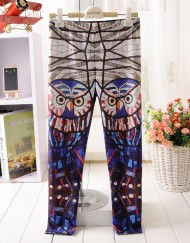 4-9Years Baby Girl Legging Children Pants Glass Owl Leggings Girls Leggings Kids Leggings Girls Cute Pants For Kids