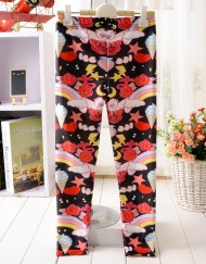 4-9Years Baby Girl Legging Children Pants Magic Icecream Night Girls Leggings Kids Leggings Girls Cute Pants For Kids