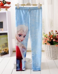 5 - 12 Years Baby Girl Legging Children Pants Frozen Elsa Girls Leggings Kids Leggings Girls Cute Pants For Kids