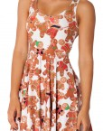 Ginger Bread Reversible Skater Dress for Women Fashion Women's