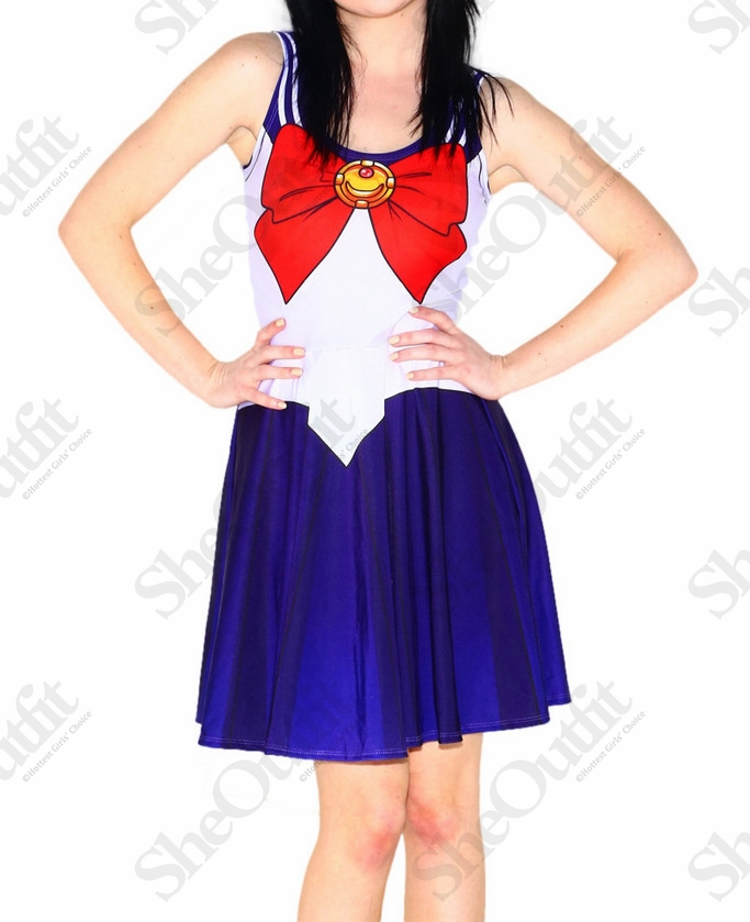 designer inspired casual dress cosplay sailor scouts sailor moon party dresses halloween costumes for women avery couture