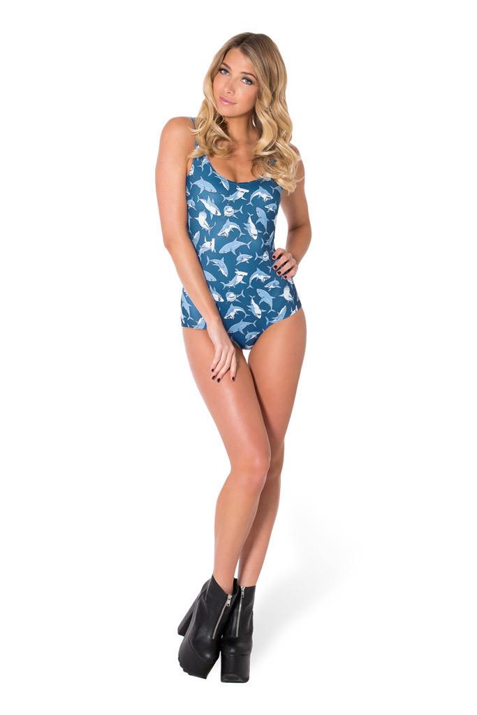 Swimwear Women One Piece Swimsuit Women Mr Shark Swimsuit Bathing