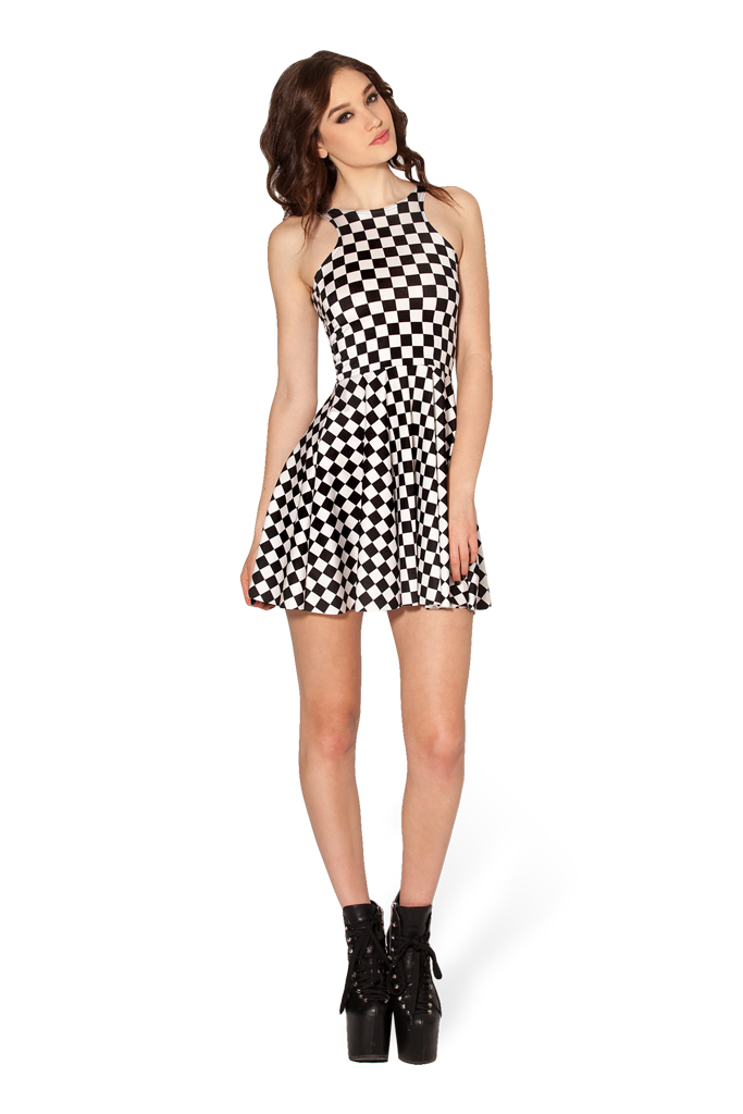 7d4b55c2f89b Indy Check Skater Dress for Women Skater Dresses Adventure Time Fashion  Women Casual Dress
