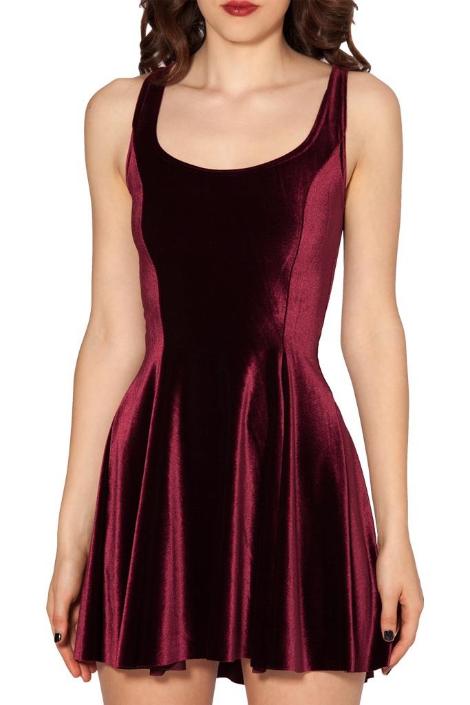 Plus Size Dresses Velvet 119