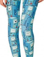 Adventure Time Bmo Hwmf Legging for Women Fashion Women's  Girl Leggings