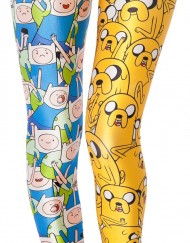 Adventure Time Finn and Jake Legging for Women Fashion Women's  Girl Leggings