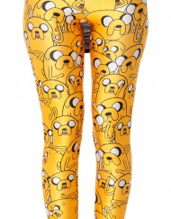 Adventure Time Jake Legging for Women Fashion Women's  Girl Leggings