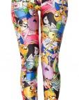 Adventure Time Leggings Bro Ball Legging for Women Fashion Women's  Girl Leggings