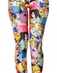 Adventure Time Leggings Bro Ball Legging for Women Fashion Women's  Girl Leggings