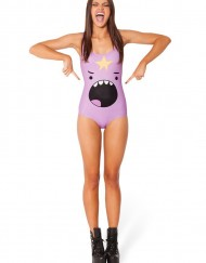 Adventure Time Lumpy Space Princess Shout Swimsuit for Women Women's  Girl Swimsuit