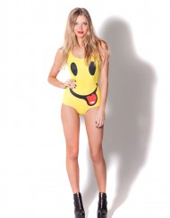 Adventure Time Smiley Tongue Swimsuit for Women Fashion Women's  Girl Swimsuit