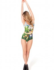 Alice And Catapillar Swimsuit for Women Fashion Women's  Girl Swimsuit