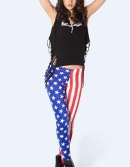 American Flag Legging for Women Fashion Women's  Girl Leggings