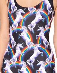 Attack Of The Unicorn Swimsuit for Women Fashion Women's  Girl Swimsuit