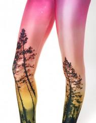 Aurora Skye Orange Legging for Women Fashion Women's  Girl Leggings
