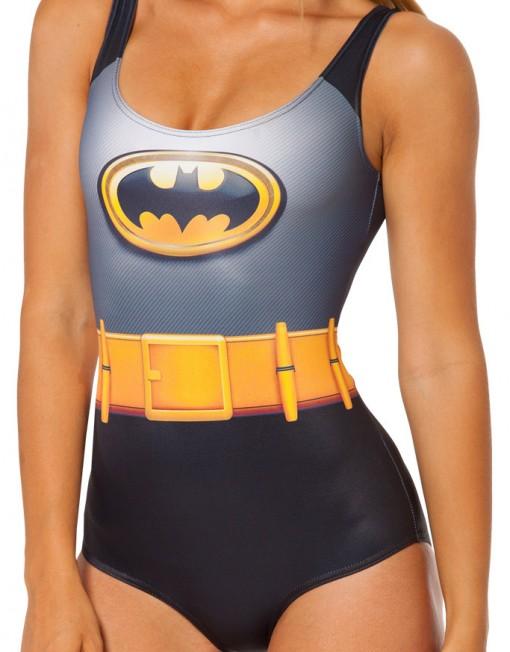 Batman Swimsuit for Women Fashion Women's Batman Swimsuits  Girl Batgirl Swimsuit
