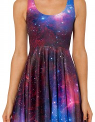 Galaxy Dress Skater Dress for Women Fashion Women's  Dresses