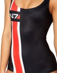 Mass Effect N7 Swimsuit for Women Fashion Women's  Girl Swimsuit