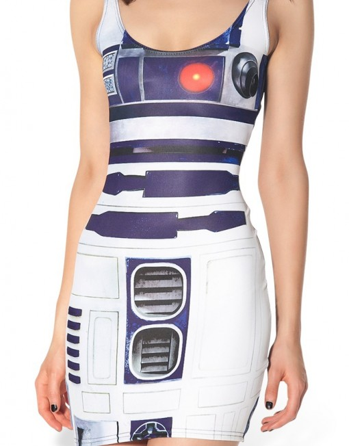 Star Wars Artoo2.0 Dress for Women Fashion Women's  Girl Dress