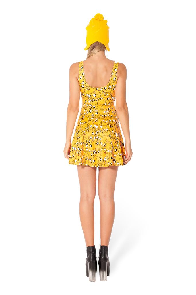 Adventure Time Jake All Over Scoop Skater Dress Women Fashion ...