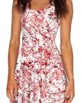 Blood Splatter Skater Dress for Women Fashion Women's  Girl Dress