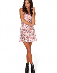 Blood Splatter Skater Dress for Women Fashion Women's  Girl Dress