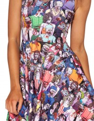 Zombie Nation Skater Dress for Women Fashion Women's  Girl Dress