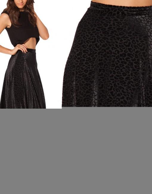 08834927fc4d7 Avery Saias Femininas Winter Skirts Womens Burned Velvet Maxi Skirt Long  Skirt Maxi Skirts female Vinatge