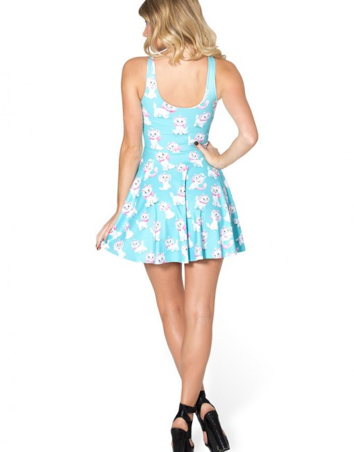Women Summer Dress  Arrival  The Aristocats Marie Dress Skater Dress for Women Women's  Dresses